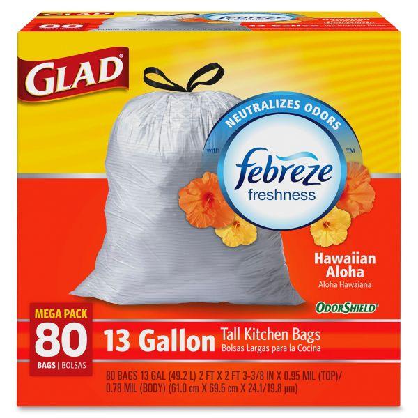 Glad OdorShield 13 Gallon Trash Bags