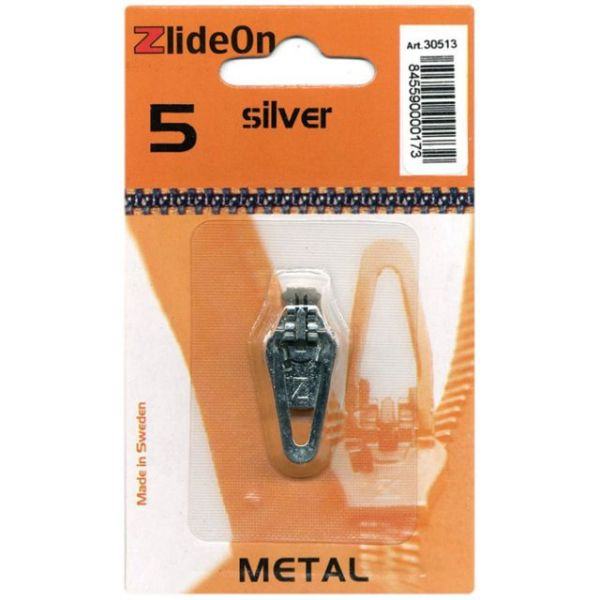 ZlideOn Zipper Pull Replacements Metal 5