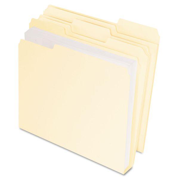 Pendaflex DoubleStuff Manila File Folders