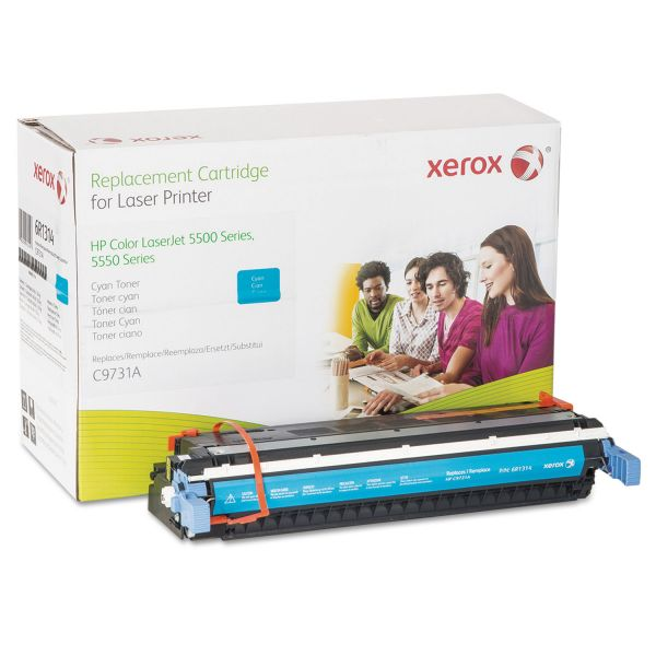 Xerox Remanufactured HP C9731A Cyan Toner Cartridge