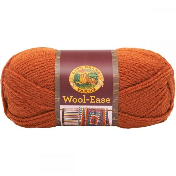 Lion Brand Wool-Ease Yarn - Pumpkin