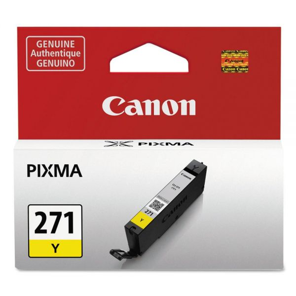 Canon CLI-271 Yellow Ink Cartridge (0393C001)