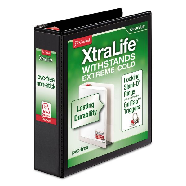 "Cardinal XtraLife 2"" 3-Ring View Binder"