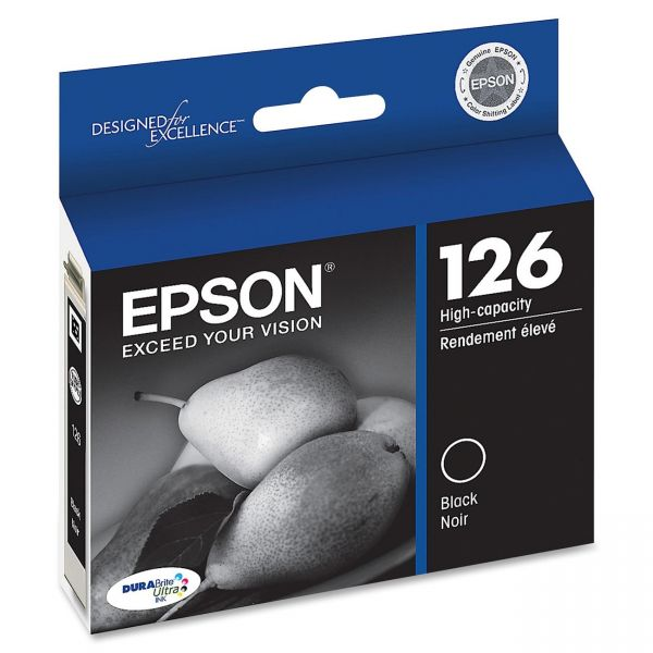 Epson 126 Black High Capacity Ink Cartridge (T126120)