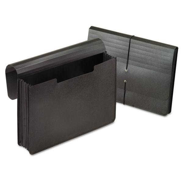 Pendaflex Expanding Portfolio, 1 Pocket, Legal, Black