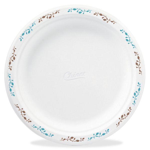 "Chinet 8.75"" Molded Fiber Plates"