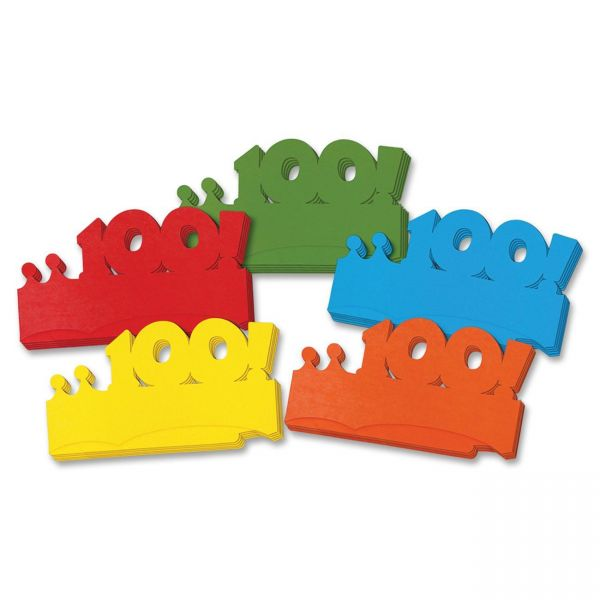 Creativity Street Bright 100! Paper Crowns