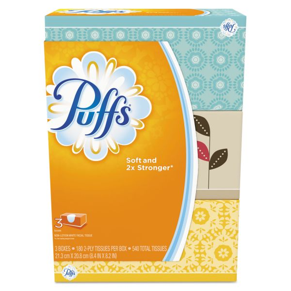 Puffs 2-Ply Facial Tissues