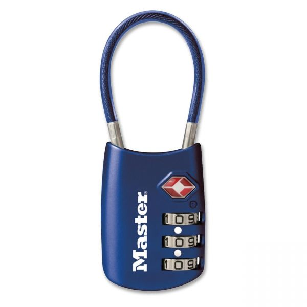 Master Lock TSA-accepted Cable Lock