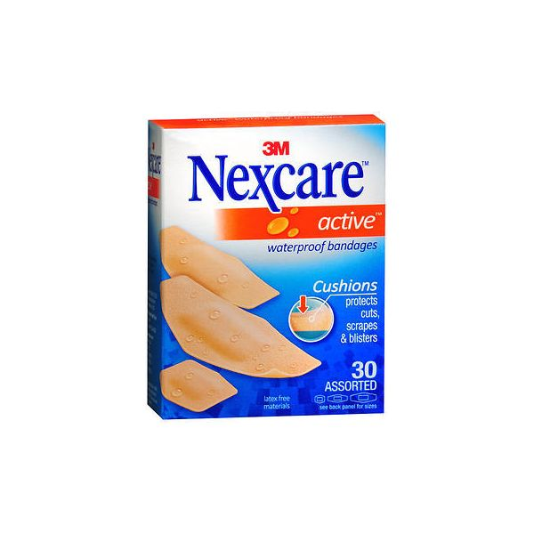 Nexcare Active Waterproof Bandages
