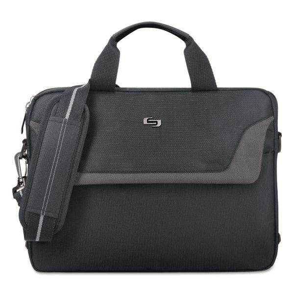 "Solo Sterling Carrying Case for 14.1"" Notebook - Black"