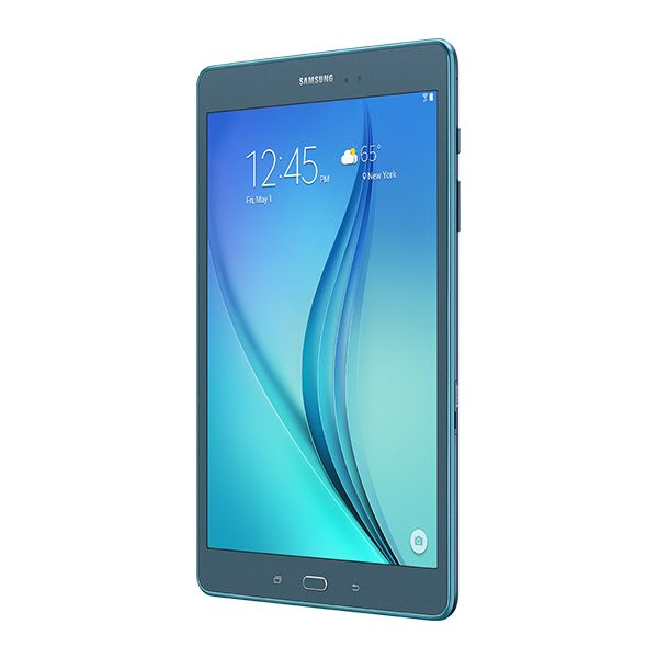 "Samsung Galaxy Tab A SM-T550 16 GB Tablet - 9.7"" - Wireless LAN - Qualcomm Snapdragon 410 APQ8016 Quad-core (4 Core) 1.20 GHz - Smoky Titanium"