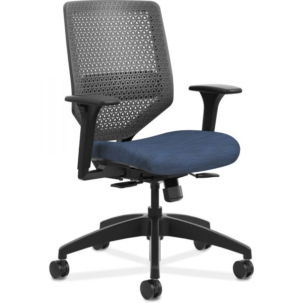 HON Solve Mid-Back Task Chair with ReActiv Back