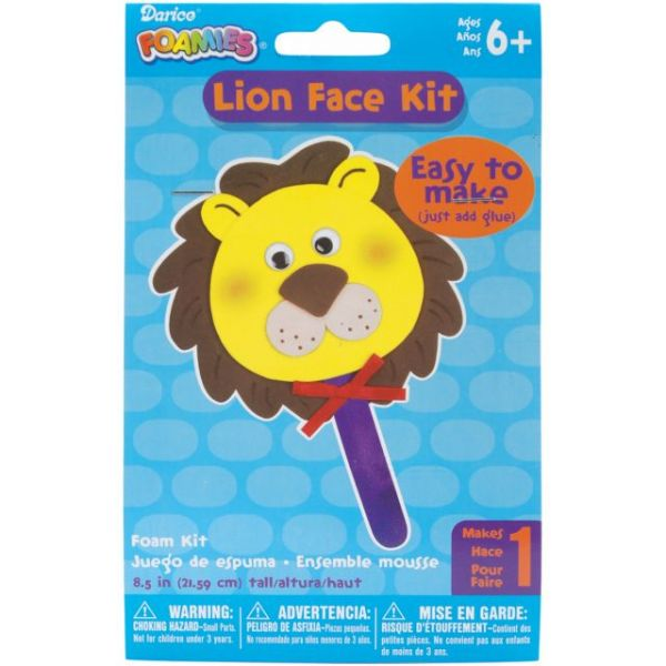 Lion Face Foam Kit