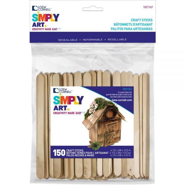 Simply Art Wood Craft Sticks