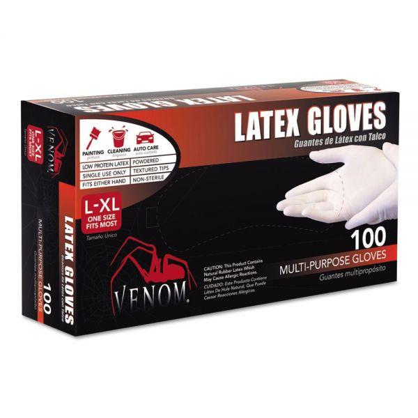 Venom Multi-Purpose Disposable Latex Gloves