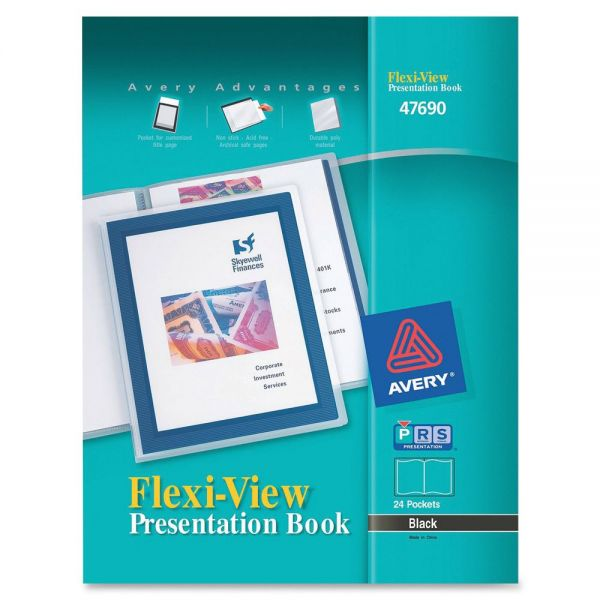 Avery Flexi-View Presentation Books