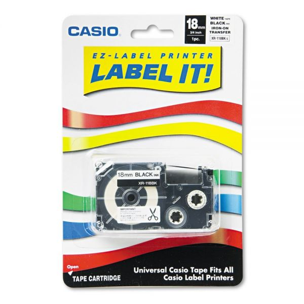 Casio Iron-On Label Tape Cartridge