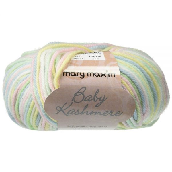 Mary Maxim Baby Kashmere Yarn - Playground