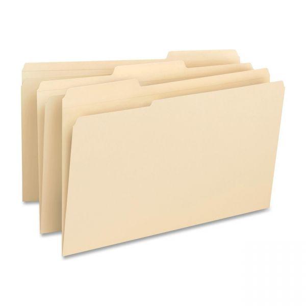Business Source Top Tab Manila File Folders