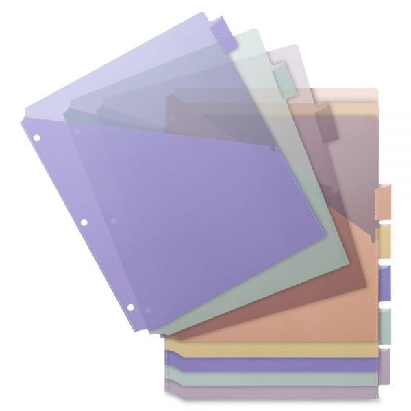Business Source Single Pocket Index Dividers