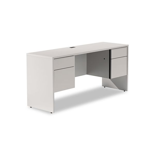 Global Genoa Series Double Pedestal Computer Desk