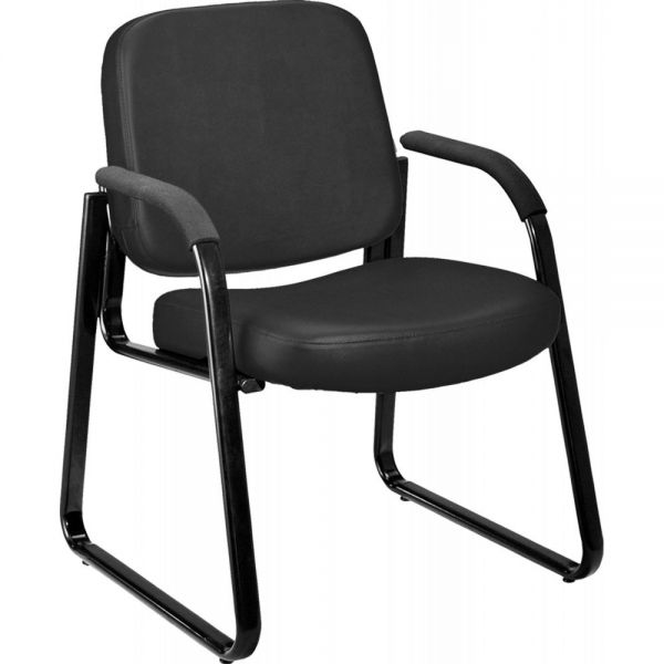 OFM Anti-Microbial/Anti-Bacterial Vinyl Guest/Reception Chair with Arms