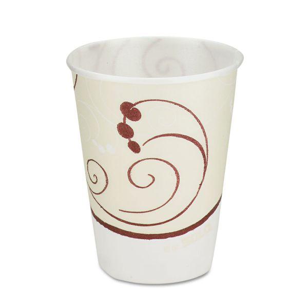 Dart Symphony Design Trophy Foam Hot/Cold Drink Cups, 10oz, 60/Pack, 25 Packs/Carton