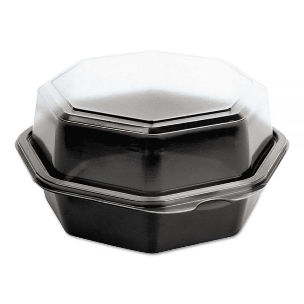 SOLO Cup Company OctaView Hinged Takeout Containers