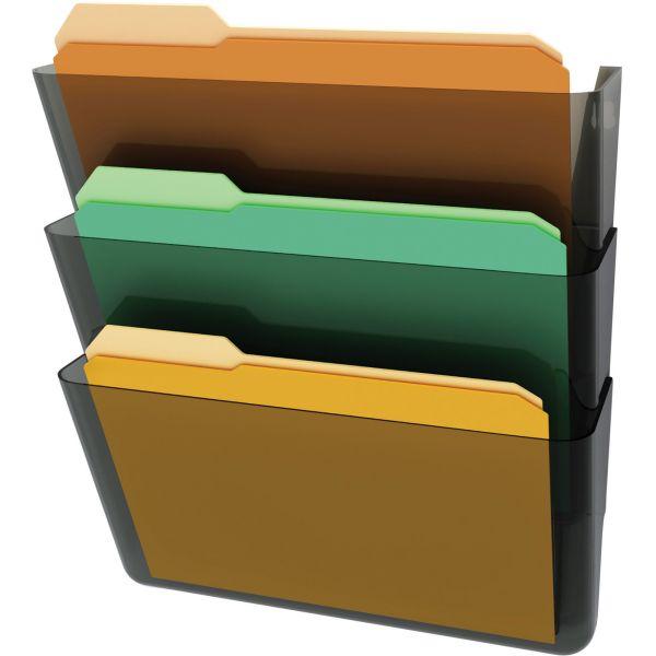 Deflect-o Stackable Wall File Pockets