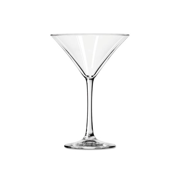 Libbey Vina Fine 8 oz Martini Glasses