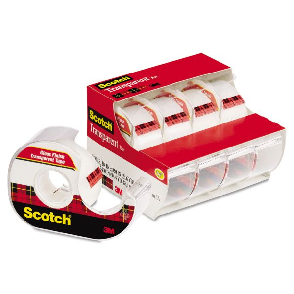 "Scotch 3/4"" Transparent Tape"