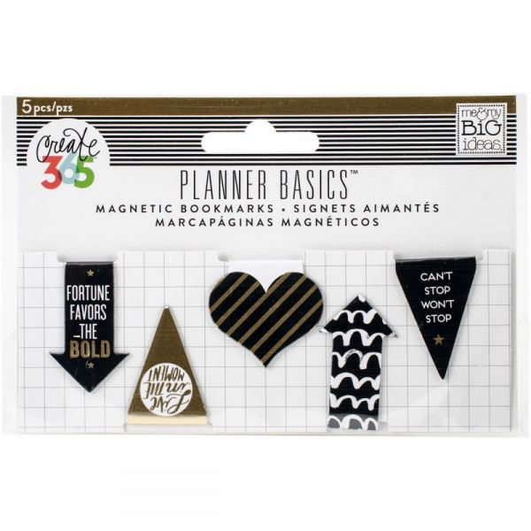 Create 365 Happy Planner Mini Magnetic Clips 5/Pkg