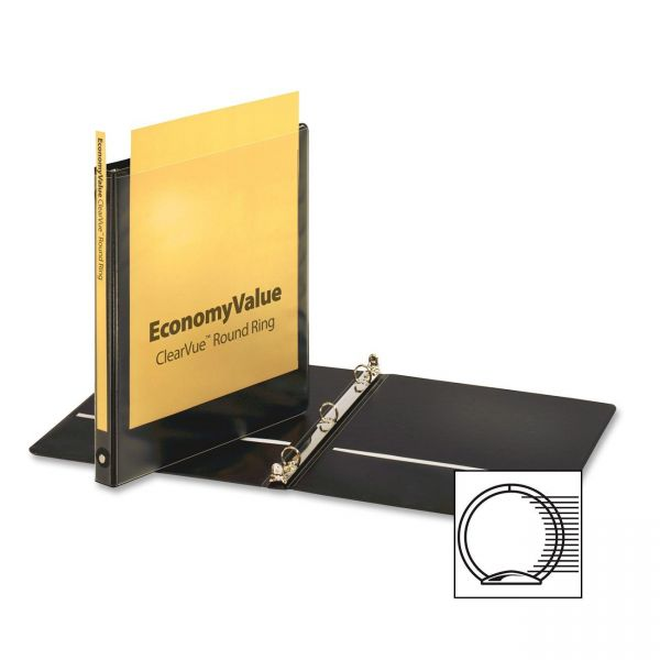 "Cardinal EconomyValue 1/2"" 3-Ring View Binder"