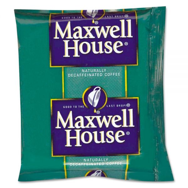 Maxwell House Coffee Fraction Packs - Decaf