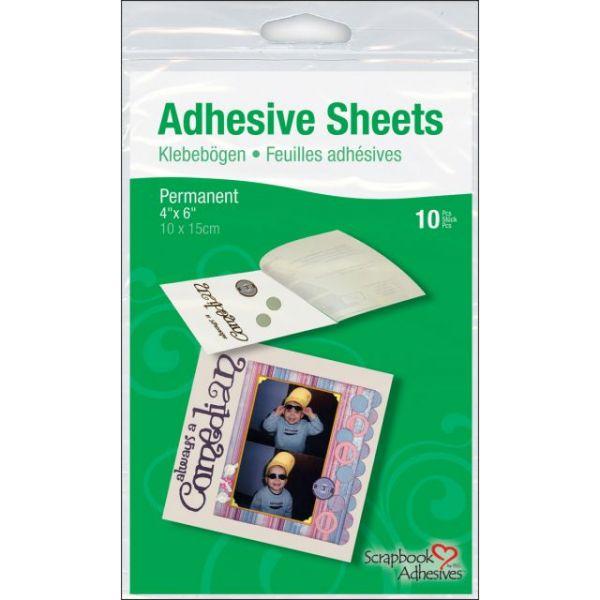 Scrapbook Adhesives Permanent Adhesive Sheets