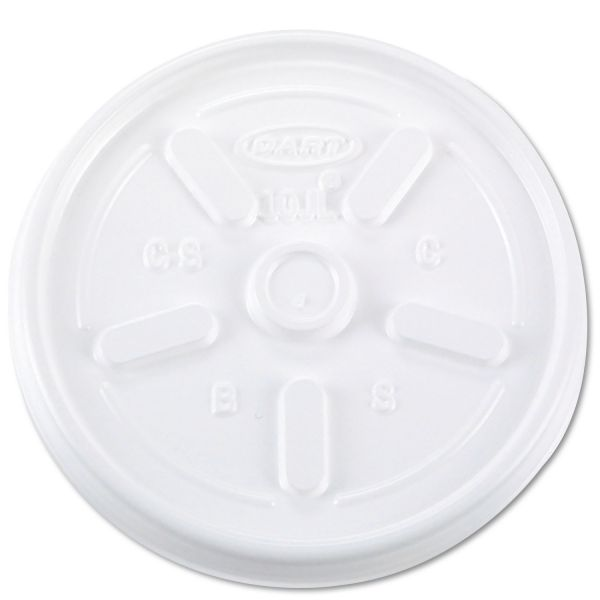 Dart Vented Plastic Coffee Cup Lids