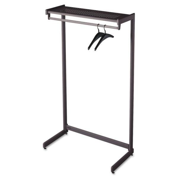 Quartet One-Shelf Garment Rack