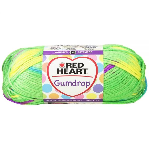 Red Heart Gumdrop Yarn