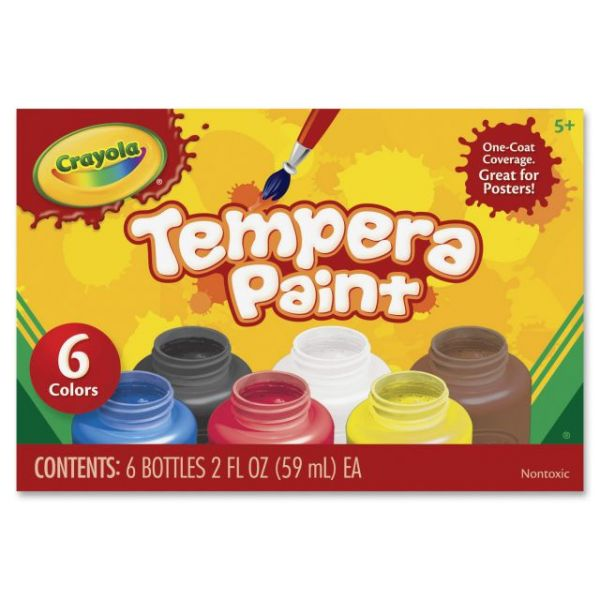 Crayola Assorted Tempera Paint
