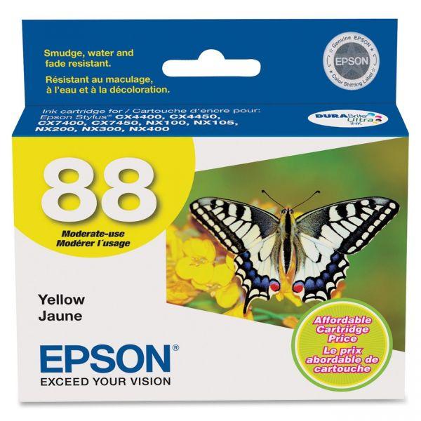 Epson 88 Yellow Ink Cartridge (T088420)