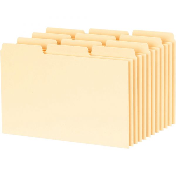 Oxford 1/3 Cut Blank Tab Index Card Guides
