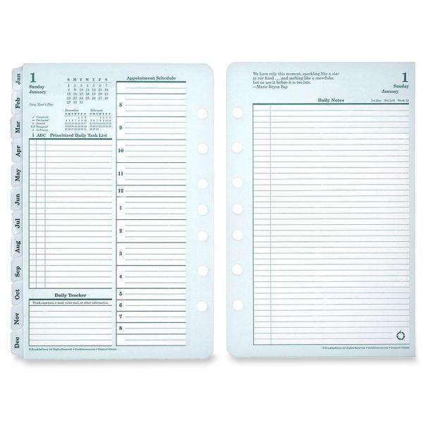 Franklin Covey Pocket Planner Refill