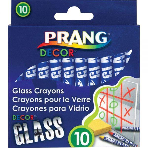 Prang Decor Glass Crayons