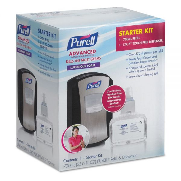 PURELL LTX-7 Advanced Instant Hand Sanitizer Kit