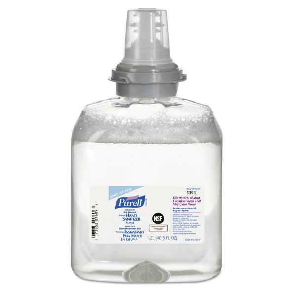 PURELL Advanced E3-Rated Foam Instant Hand Sanitizer Refills