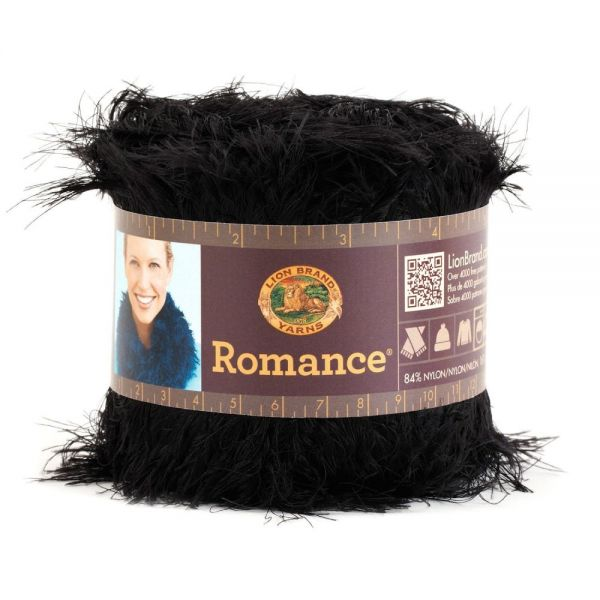 Lion Brand Romance Yarn - Moonlight