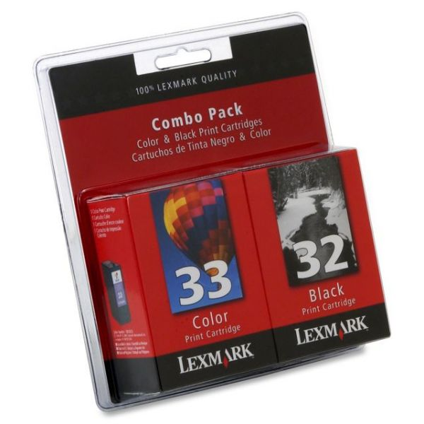 Lexmark #32/#33 Twin Pack Ink Cartridges