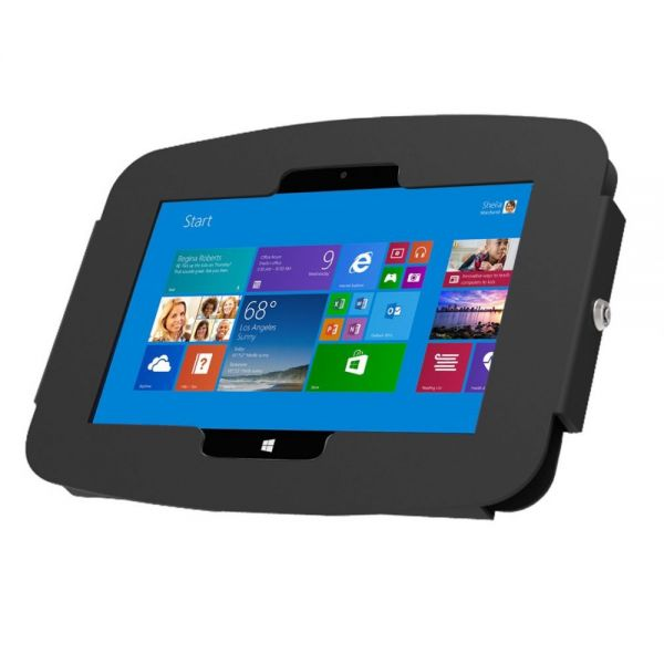 "Surface Pro 3/Pro 4 (12"") Secure Space Enclosure Wall Mount Black"