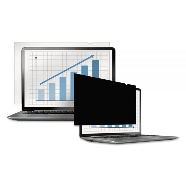"Fellowes PrivaScreen Blackout Privacy Filter for 14"" Widescreen LCD/Notebook, 16:9"